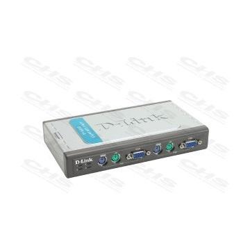 D-Link KVM Switch 4PC PS/2+2 Kábel