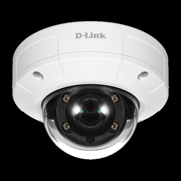 D-Link Kamera - DCS-4605EV - Vigilance 5 MP 2560x1440 Vandálbiztos Vízálló POE Fix Kültéri Dome