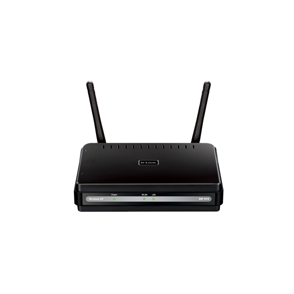 D-Link Access Point - DAP-2310 - Wireless N 300Mbps 2dBi 2,4Ghz Single-Band Gigabit LAN 8 SSID