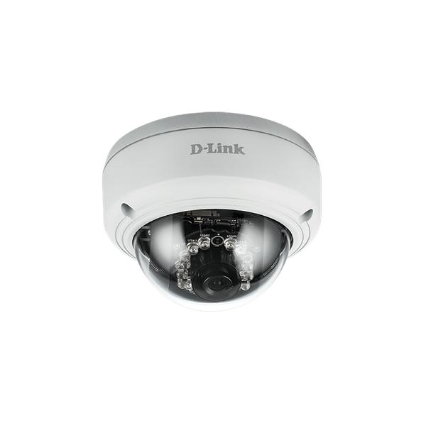 D-Link Kamera - DCS-4602EV - Vigilance 2 MP Full HD1440x1080 Vandálbiztos Vízálló Wired POE Fix Kültéri IP Dome