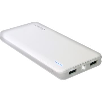 DEFENDER Power bank Tesla Li-pol, 2USB, 10000mAh, 5V, 2A