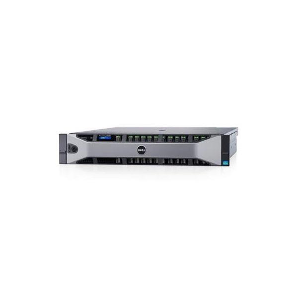 DELLEMC rack szerver PowerEdge R730, 1x 10C E5-2630v4 2.2GHz, NoRAM, NoHDD, NoOS.