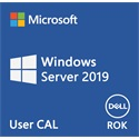 DELL EMC szerver CAL - MS Windows Server 2019, 10 User CAL, ROK, English.