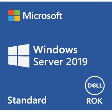 DELL EMC szerver OS - MS Windows Server 2019 Standard Edition 16 CORE, 64bit ROK - English (WSOS).