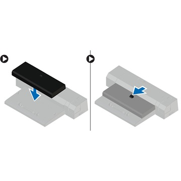 DELL NB Latitude E-Docking Spacer (for  Latitude series ONLY)