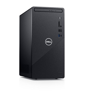 DELL PC Inspiron 3881 i5-10400 (4,3 Ghz), 8GB, 512GB SSD, DVD-RW, Intel UHD, Linux, Fekete