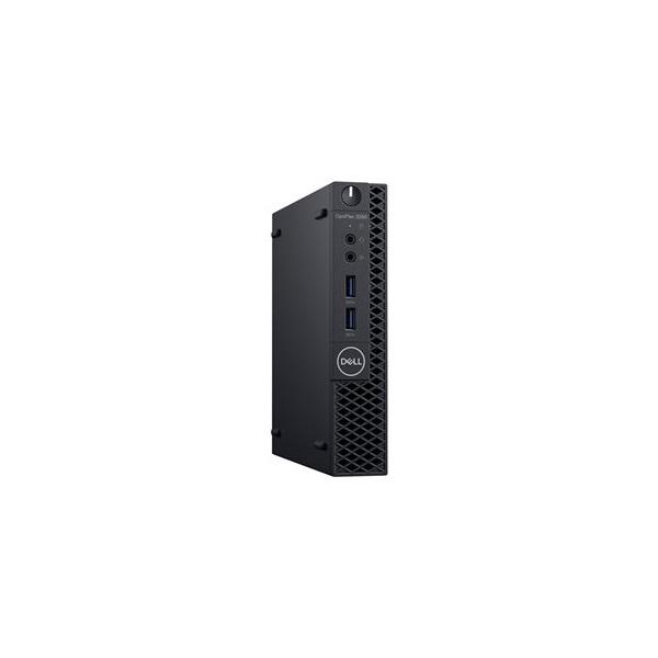 DELL PC Optiplex 3070 Micro, Intel Core i3-9100T (3.10GHz), 4GB, 128GB SSD,  Windows 10 Pro
