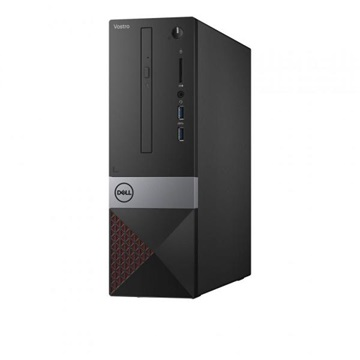 DELL PC VOSTRO 3470 SFF Intel Core i3-8100 3.60 GHz, 4GB, 128GB SSD, WLAN+BT, Win 10 Pro