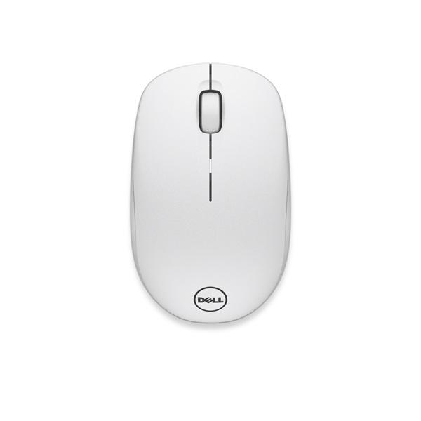 DELL Vezeték Nélküli egér, WM126 Wireless Optical Mouse fehér