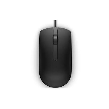DELL Vezetékes egér, MS116 Optical Mouse - Black
