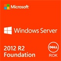 DELL szerver OS, MS Windows Server 2012 R2 Foundation Edition, 64bit, ROK - English (WFOS).