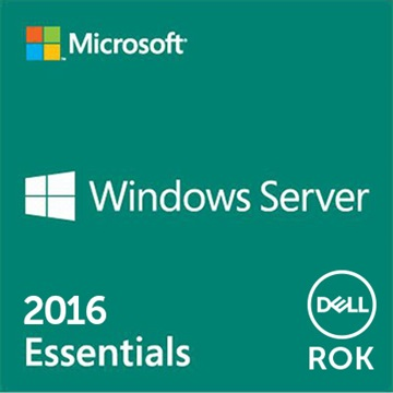 DELL szerver OS, MS Windows Server 2016 Essentials Edition, 64bit ROK - English (WEOS).