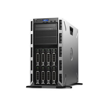 DELL torony szerver PowerEdge T430, 1x 10C E5-2630v4 2.2GHz, 16GB, 2TB NSAS, NoOS.