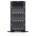 DELL torony szerver PowerEdge T630, 1x 8C E5-2620v4 2.1GHz, 32GB, 1.2TB SAS 10k, NoOS.