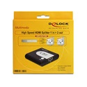 DELOCK High Speed HDMI Splitter 1 in 2 out