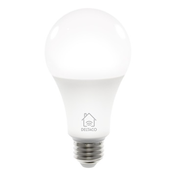 DELTACO SMART HOME SH-LE27W LED izzó, E27, 9W, WIFI