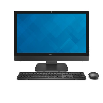 "Dell Inspiron AIO 5459 23.8"" FHD Touch i5-6400T (2.80 GHz), 8GB, 1TB, NVIDIA 930 4GB, Linux fekete"