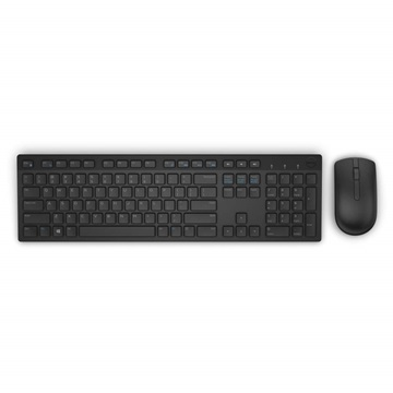 Dell Wireless Keyboard and Mouse-KM636 - Hungarian (QWERTZ) - Black