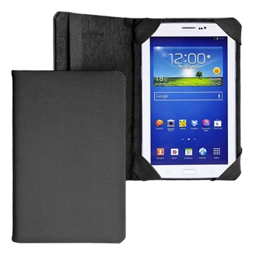E5 Tablet tok Bookcover fekete