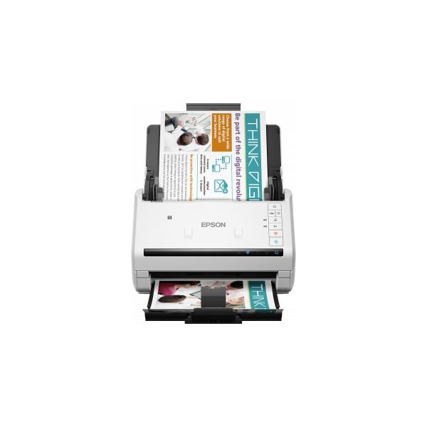 EPSON Docuscanner - WorkForce DS-570W (A4, 600 DPI, 35 lap/perc, USB/Wifi, ADF, duplex)