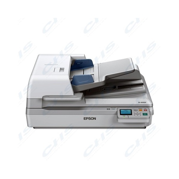 EPSON Docuscanner - WorkForce DS-60000N (A3, 600 DPI, 40 lap/perc, GigabitLAN, ADF)