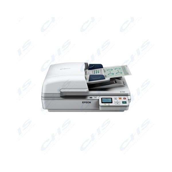 EPSON Docuscanner - WorkForce DS-6500N (A4, 1200 DPI, 25 lap/perc, USB/LAN, ADF, duplex)