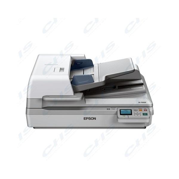 EPSON Docuscanner - WorkForce DS-70000N (A3, 600 DPI, 70 lap/perc, GigabitLAN, ADF)
