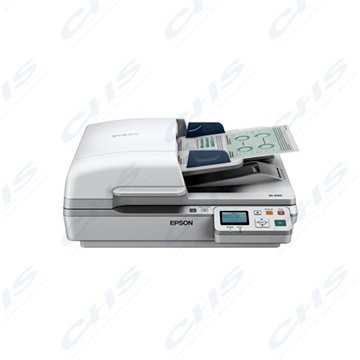 EPSON Docuscanner WorkForce DS-7500N,  ADF, USB/Háló, A4 40lap/perc, 1200 dpi, duplex