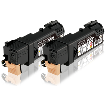 EPSON Double Toner Cartridge Pack Black 3kx2