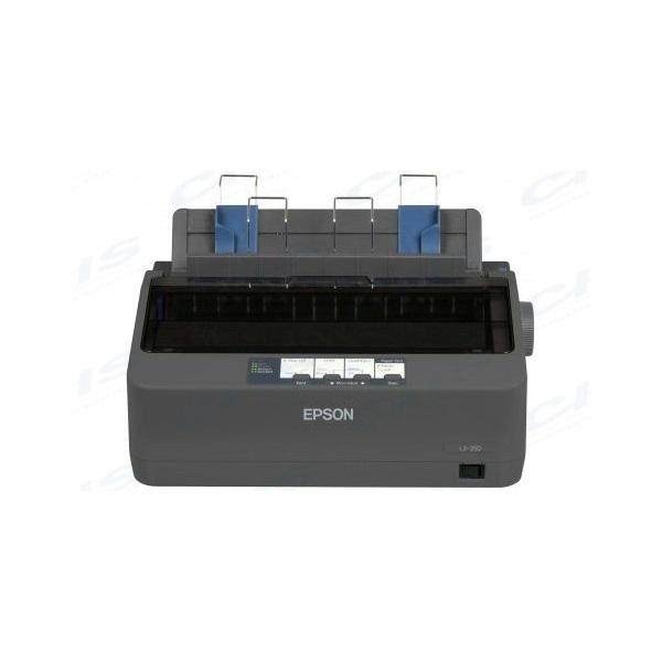 EPSON Mátrixnyomtató - LX-350 (Mechanikus pontmátrix, A4, 9 tű, 347 karakter/s, USB/RS-232)
