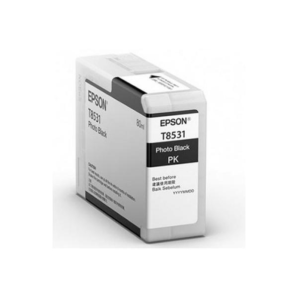 EPSON Patron Epson P800 SureColor T-850100 Fotófekete 80 ml