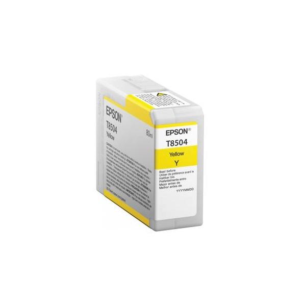EPSON Patron Epson P800 SureColor T-850400 sárga 80 ml