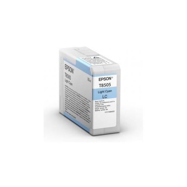 EPSON Patron Epson P800 SureColor T-850500 világoskék 80 ml