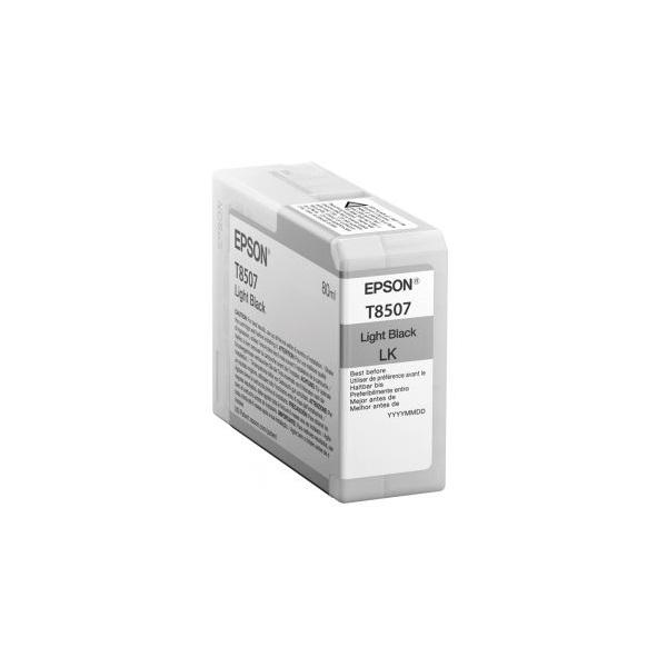 EPSON Patron Epson P800 SureColor T-850700 light black (világos fekete) 80 ml