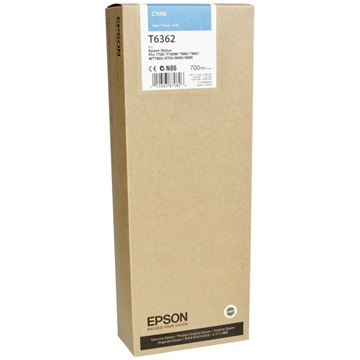 EPSON Patron Singlepack Cyan T636200 UltraChrome HDR 700 ml