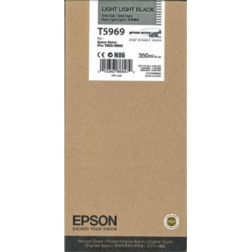 EPSON Patron Singlepack Light Light Black T596900 UltraChrome HDR 350 ml