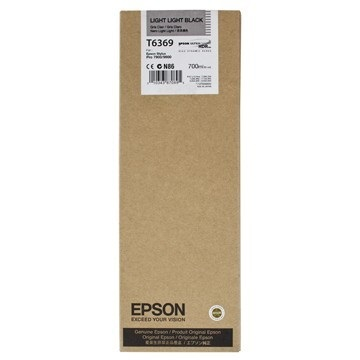 EPSON Patron Singlepack Light Light Black T636900 UltraChrome HDR 700 ml