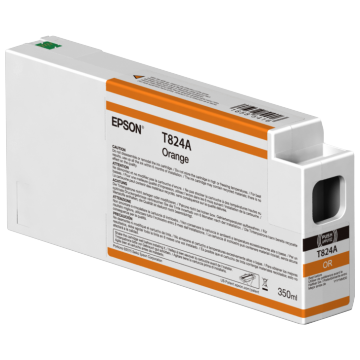 EPSON Patron Singlepack Orange T824A00 UltraChrome HDX 350ml