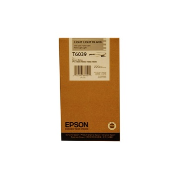 EPSON Patron Singlepack T603900 Light Light Black 220 ml