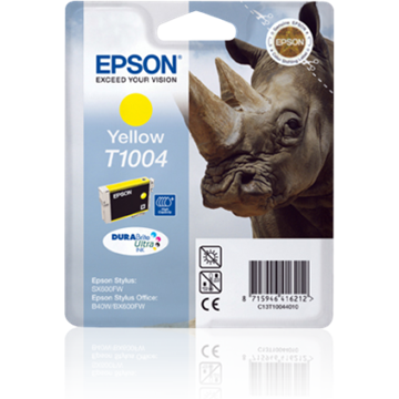 EPSON Patron Stylus Office B40W/BX600FW, SX600FW, Sárga (Yellow) 11,1ml