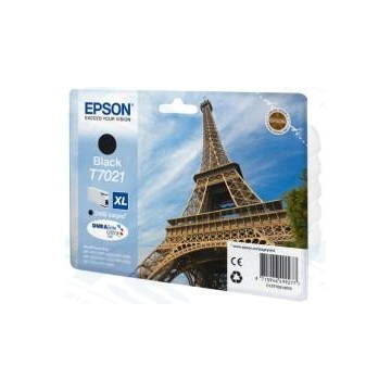 EPSON Patron WorkForce Pro WP-4000/4500 Series Ink Cartridge XL Fekete (Black) 2.4k