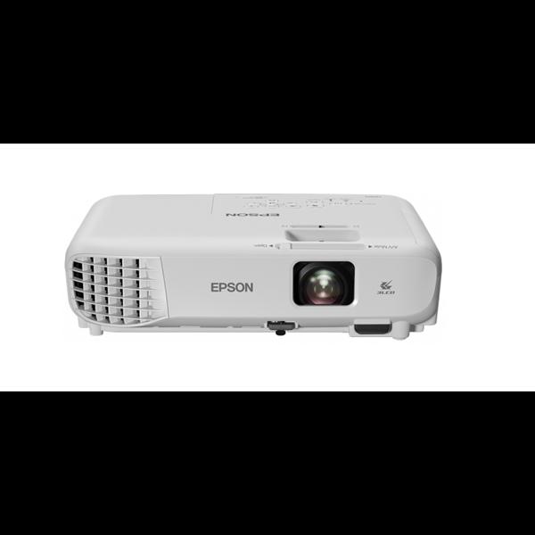 EPSON Projektor - EB-S05 (3LCD, 800x600 (SVGA), 4:3, 3200 AL, 15 000:1, HDMI/VGA/USB/Cinch)