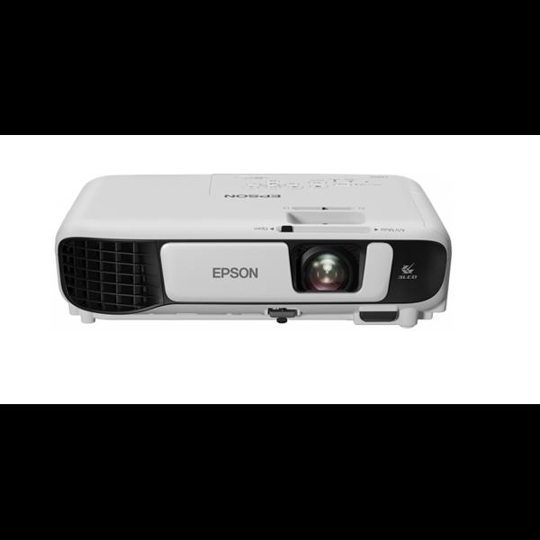 EPSON Projektor - EB-S41 (3LCD, 800X600 (SVGA), 4:3, 3300 AL, 15 000:1, HDMI/VGA/USB/Cinch)
