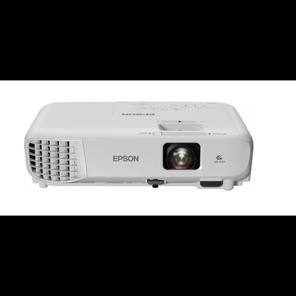 EPSON Projektor EB-W05, WXGA 1280X800  3300 ANSI Lm, 15 000:1, USB/HDMI/VGA/Wifi(opcionális)