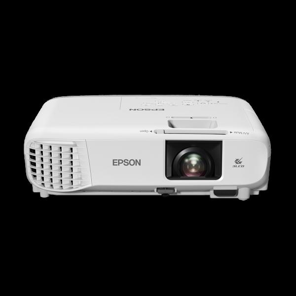 EPSON Projektor - EB-W39 (3LCD, 1280x800 (WXGA), 16:10, 3500 AL, 10 000:1, 2xHDMI/2xVGA/USB/RS-232/2xKomponens/2xRGB)