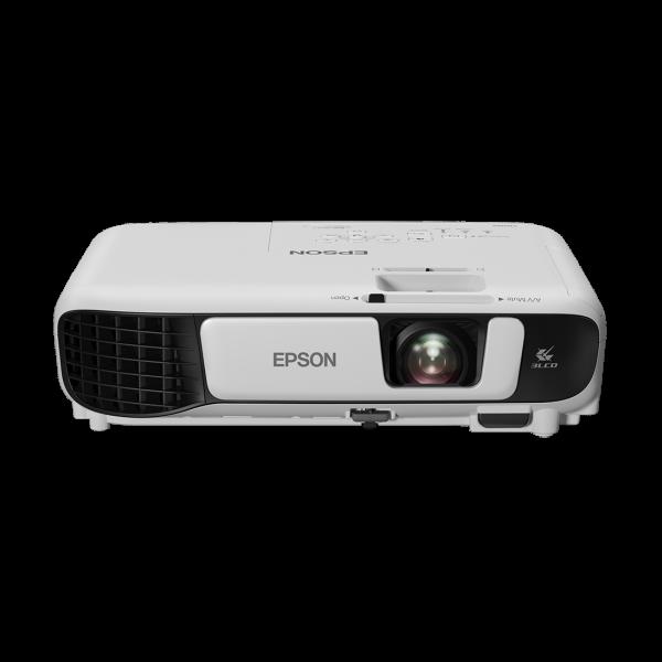 EPSON Projektor - EB-W42 (3LCD, 1280 x 800, 16:10, 3600 AL, 15 000:1, Wifi/HDMI/VGA/USB/Cinch)