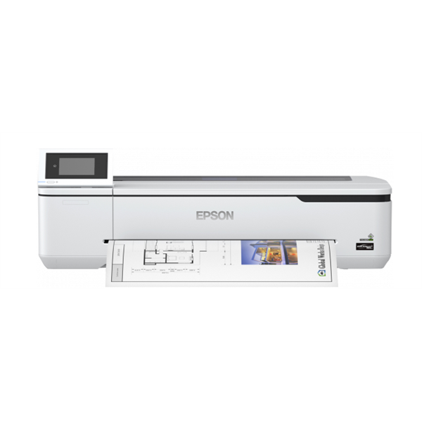 EPSON Tintasugaras Plotter - SureColor SC-T3100N (A1, színes, 2400x1200 DPI, USB/LAN/Wifi/Wifi direct)