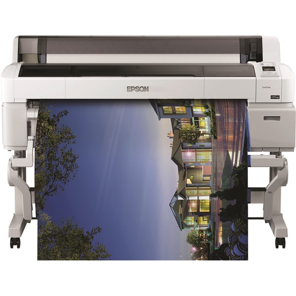 EPSON Tintasugaras Plotter - SureColor SC-T7200 (A0, színes, 2880x1440 DPI, USB/LAN)