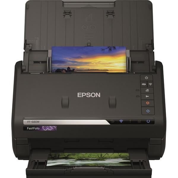 Epson FastFoto FF-680W (A4, 600X600 DPI,45 lap/perc, USB/WiFi)