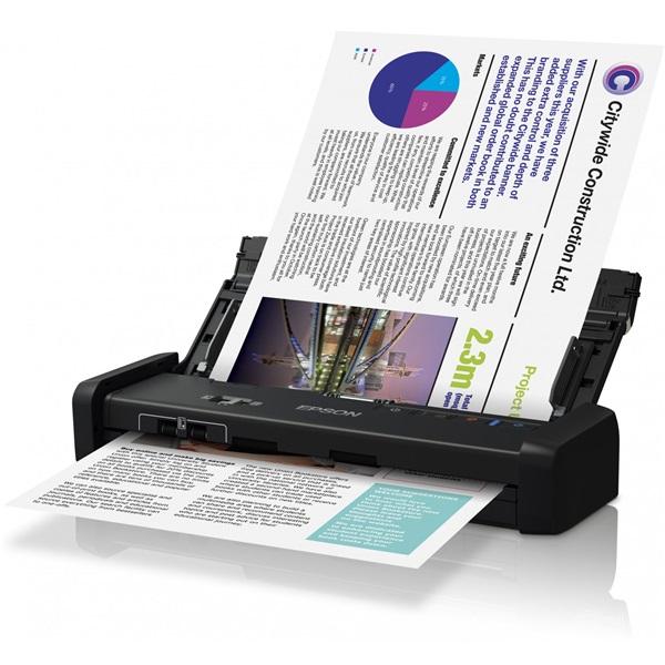 EPSON Docuscanner - WorkForce DS-310 (A4, 1200 DPI, 25 lap/perc, USB, ADF, duplex)